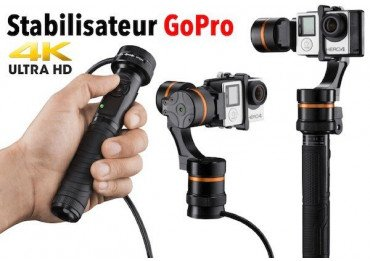 Stabilisateur GoPro - Waver pro Gimbal 3 axes - OCCASION Produits d'occasion