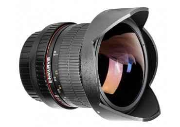 Samyang 8mm f/3.5 IF MC Fish-Eye CSII DH (monture Canon M) Samyang-Canon