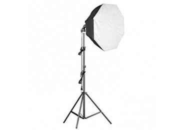 Kit Eclairage Daylight 1000 watts + Softbox octogonale Ø 60cm - Walimex Pro Kit Daylight