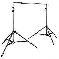 Support de fond studio Walimex pro - 120-307cm VENTE