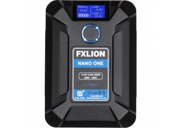 FXLION - Batterie V-mount NANO One 50Wh Accueil