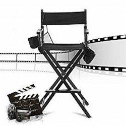 Chaise Metteur en scène, Réalisateur, Directeur - couleur noir confort