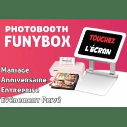 FunyBox - Photobooth pour l'animation de vos évènements (Mariage, Anniversaire, ...) Photo Box