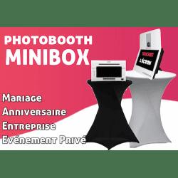 Mini Box - Photobooth pour l'animation de vos évènements (Mariage, Anniversaire, Entreprise, Salon, etc.) Photo Box