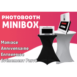 MiniBox - PhotoBooth Photo Box