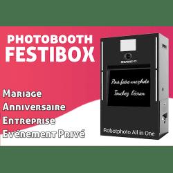 FestiBox - Photobooth avec imprimante photo pro Photo Box