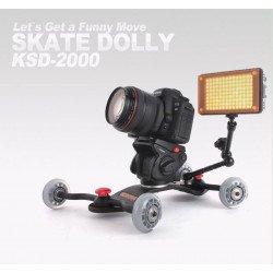 Konova Skate Dolly : Plate forme de travelling Steadycam - Glidecam