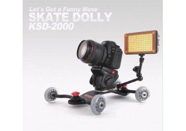 Konova Skate Dolly : Plate forme de travelling Slider & Grue