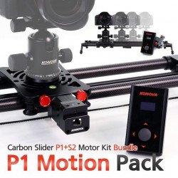 Stabilisateur motorisé - Konova P1 KMS S2 Curseur Carbone Slider & Grue