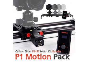 Stabilisateur motorisé - Konova P1 KMS S2 Curseur Carbone Slider