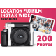 Location Fujifilm Pack Instax Wide Instax Wide