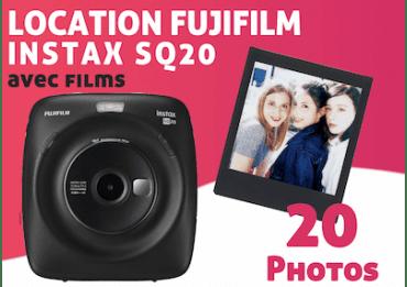 Location Fujifilm Instax Square SQ20 Pack Instax Square