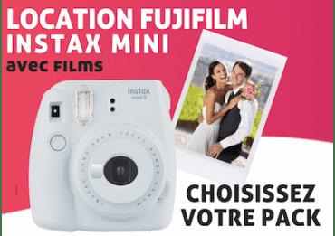 Location Fujifilm PackInstax Mini Pack Instax Mini 8