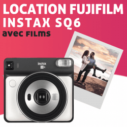 Location Fujifilm Instax Square SQ6 Pack Instax Square