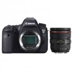 Pack Canon 6D + Objectif Canon 24-70 mm f/4 L IS USM