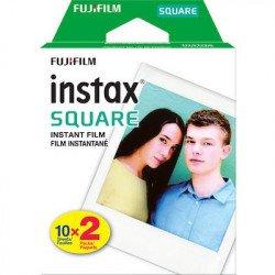 Film Instax Square - 20 poses couleur Film pour Fuji Instax
