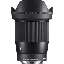 Sigma 16mm f/1.4 - Monture Canon EF Focale Fixe