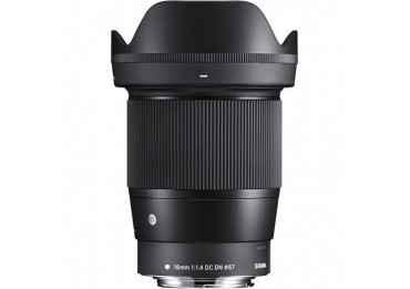 Sigma 16mm f/1.4 DC DN Contemporary - Monture Canon EF Focale Fixe