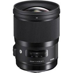 Sigma 28mm f/1,4 DG HSM - Art - Monture Canon Accueil