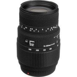 Sigma 70-300mm f/4 - 5.6 Macro. Monture Canon - OCCASION Produits d'occasion