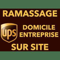 Ramassage de votre colis sur site par UPS