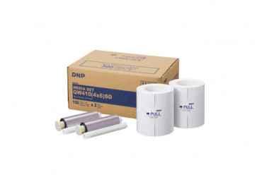 Papier DNP QW410 10x15 - 300 tirages DNP QW410