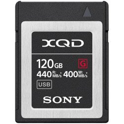 Sony Carte mémoire XQD 120GB XQD