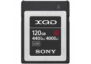 Sony Carte mémoire XQD 120GB XQD