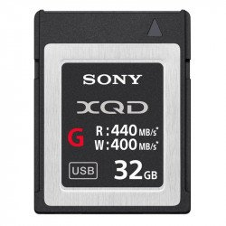Sony Carte mémoire XQD 32GB XQD