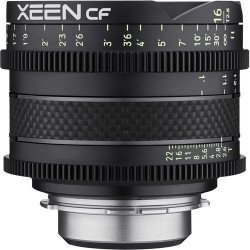 Samyang Xeen CF 16 mm T2.6 - Objectif Ciné - Monture Canon EF Samyang-Canon