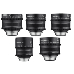 Pack 5x objectifs Samyang Xeen CF 16, 24, 35, 50, 85 mm - Canon EF