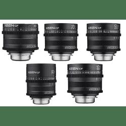 Pack 5x objectif Samyang Xeen CF 16, 24, 35, 50, 85 mm - Canon EF Samyang-Canon