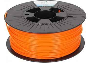 Filament PLA Orange Fluo polyvalent - Gamme ecoPLA - 1,75 - 250 Filament PLA