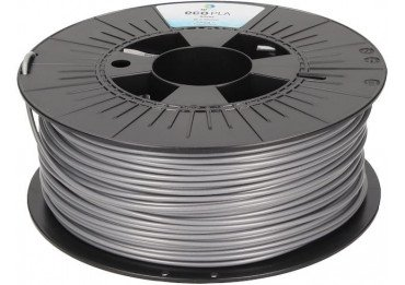 Filament PLA Argent polyvalent - Gamme ecoPLA - 1,75 mm / 2,85 mm - 250 / 1000 / 2300 g Filament PLA