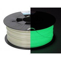 Filament PLA Fluorescent polyvalent - Gamme ecoPLA - 1,75 mm / 2,85 mm - 250 / 1000 / 2300 g Filament PLA
