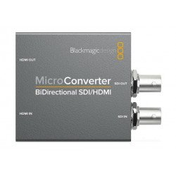 Micro ConverterBlackmagic BiDirect SDI/HDMI + HDMI/SDI Enregistreur Vidéo