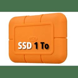 LaCie Rugged USB-C SSD 1T Disque SSD