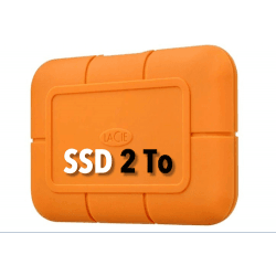 LaCie Rugged USB-C SSD 2T Disque SSD
