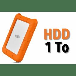 Disque dur HDD 1TB - LaCie Rugged USB-C 1TB Mobile Drive Disque HDD