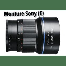 Sirui 50mm F/1.8 Anamorphic Lens 1.35X (Sony E) Anamorphique