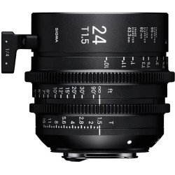Sigma 24mm T1.5 FF (Canon EF) – Objectif Prime Cinéma Monture EF
