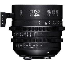 Sigma 24mm T1.5 FF Cine Canon EF) - Objectif Prime Cinéma Monture EF