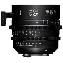 Sigma 35mm T1.5 FF (Canon EF) ? Objectif Prime Cinéma Monture EF