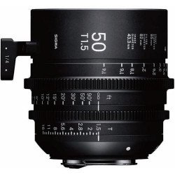 Sigma 50mm T1.5 FF F/VE Cine FF High Speed Prime FF Sony-E Metric Monture Canon (EF)