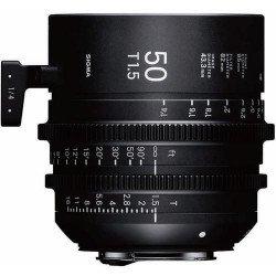 Sigma ciné 50mm T1.5 FF Cine (Canon EF) - Objectif Prime Cinéma Monture EF