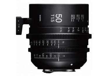 Sigma 50mm T1.5 FF F/VE Cine FF High Speed Prime FF Sony-E Metric Monture Canon (EF)