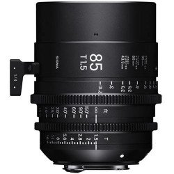 Sigma 85mm T1.5 FF F/VE Cine FF High Speed Prime FF Sony-E Metric Monture Canon (EF)