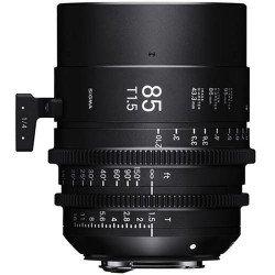 Sigma 85mm T1.5 FF (Canon EF) ? Objectif Prime Cinéma Monture EF