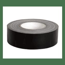 Gaffer Mat noir - 50mm x 50m VENTE