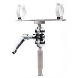 Fixation avec double articulation - Pour Nanlite Pavo Tubes 15C / 30C - HD-T12-1-BHP Pied & Stand Lumière